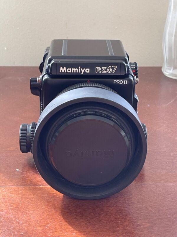 Excellent Condition Mamiya RZ67 PRO II w/ 110mm f2.8