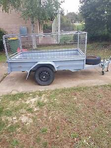 7 x 4 Cage Trailer Available For Hire In Canberra Kaleen Belconnen Area Preview