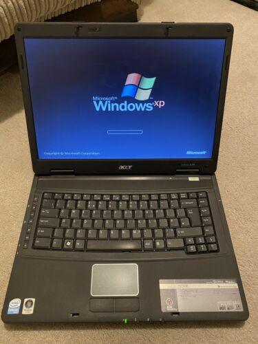 Laptop Windows - Acer Extensa 5630E Intel Celeron 2Gb RAM Laptop Windows XP Retro Gaming DVD