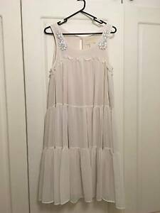 Ivory H&M Dress Conscious Collection Size S / M / 8 / 10 Bondi Beach Eastern Suburbs Preview