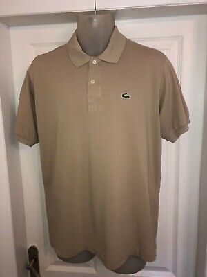 Lacoste biscuit polo shirt size Num 5 large