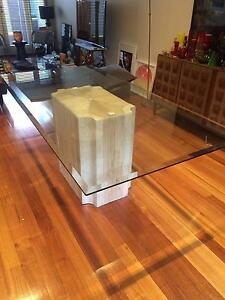 Vintage 1980's Dining Table and Console Retro Prahran Stonnington Area Preview