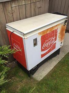 Antique Coca Cola Fridge Box