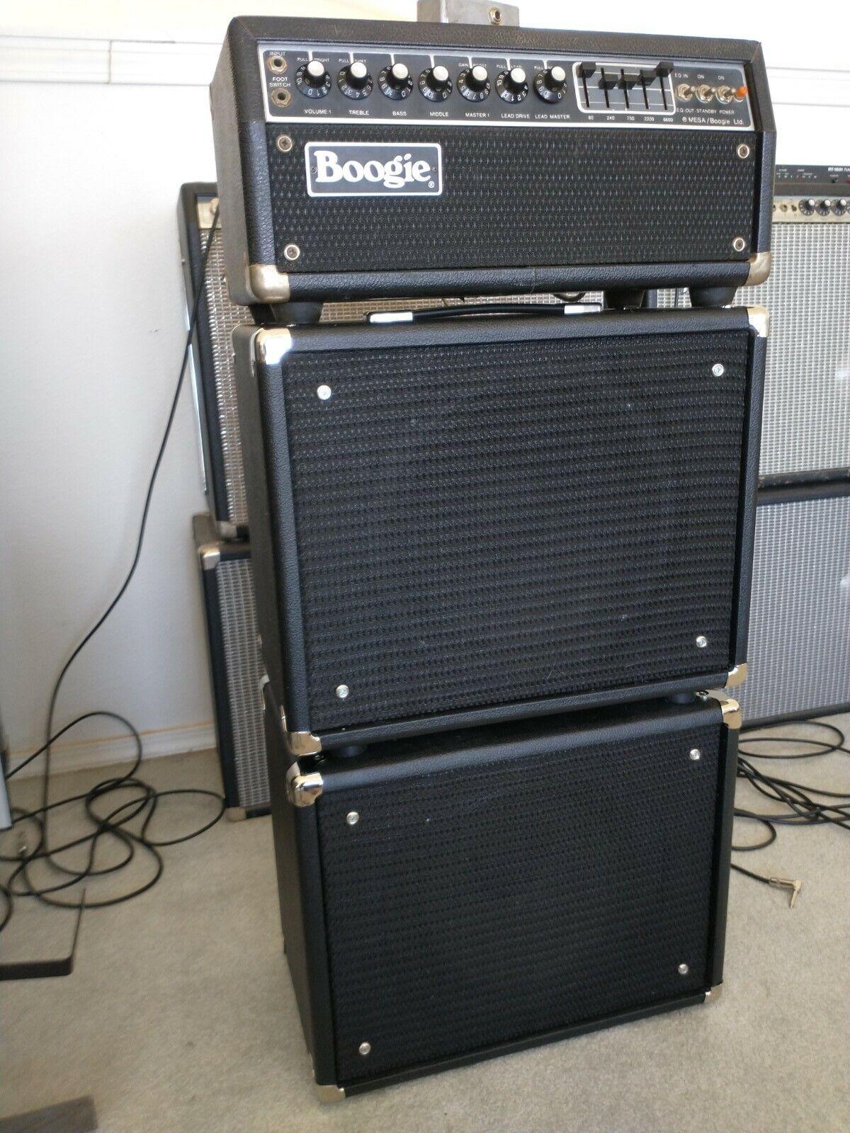 Mesa Boogie Mark iib amplifier head stack
