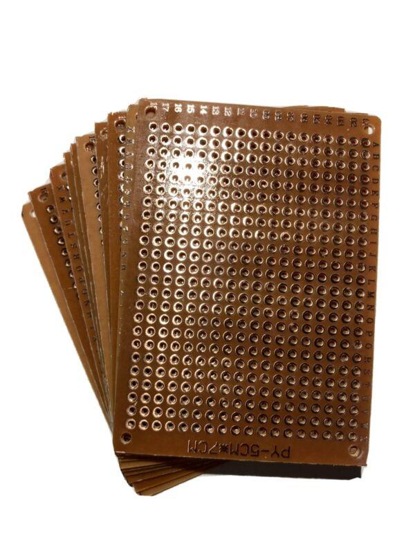 20pcs Perf board Prototype Board DIY Single sided Copper pads PCB 5x7cm US SHIP!