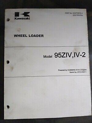Kawasaki Model 95ziv Iv-2 Wheel Loader
