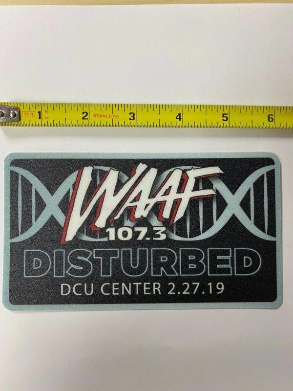 Disturbed WAAF Sticker Rare Promo