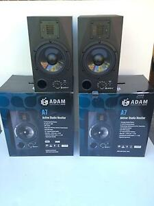 "ADAM A7 7"" Nearfield Active Studio Monitor's (Pair) New read note Highett Bayside Area Preview"