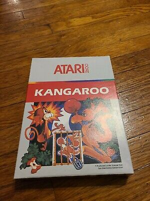 Kangaroo for Atari 2600 ▪︎ COMPLETE IN BOX ▪︎ FREE SHIPPING ▪︎