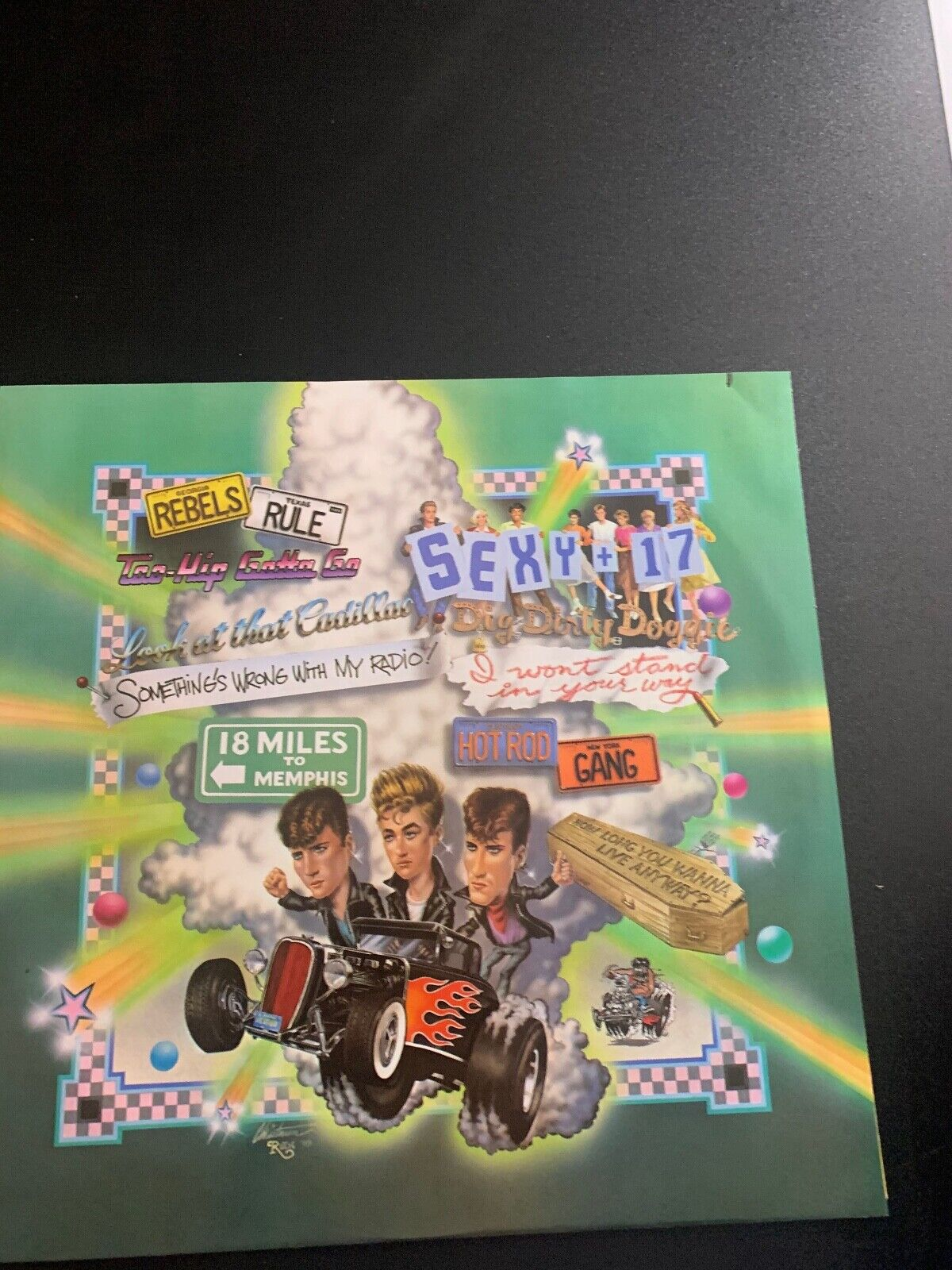LP RECORD - STRAY CATS - RANT N RAVE - EMI RECORDS - $9.99