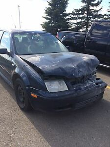 2001 Jetta (For Parts or As Is)