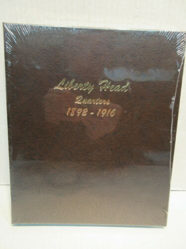 Dansco Coin Album # 7130 Liberty Head Quarters 1892 - 1916