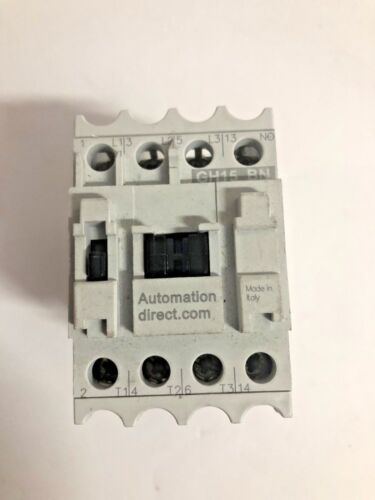 MOTOR STARTER, CONTACTOR, AUTOMATION DIRECT GH15BN GH15 BN 120V 30A