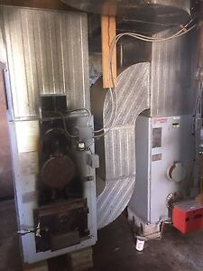 Wood oil combination furnace