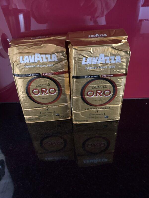 Lavazza Qualita Oro Ground Coffee 500g X 2 (1 Kg)