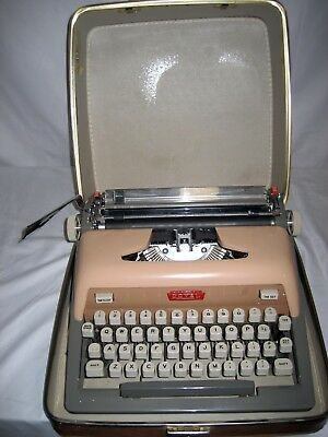 Refurbished Royal 800 Manual Typewriter Whard Case Wwarranty