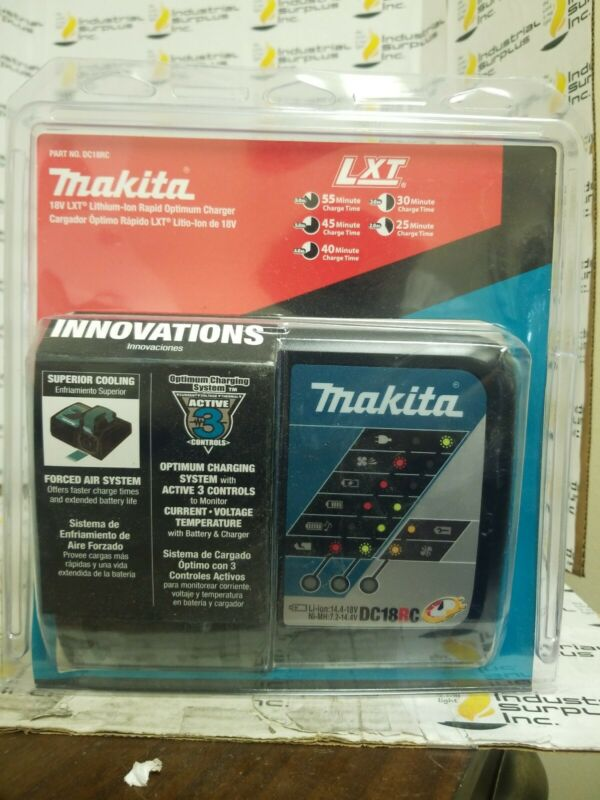 Makita DC18RC Fast Lithium-Ion Battery Charger *FREE SHIPPING*