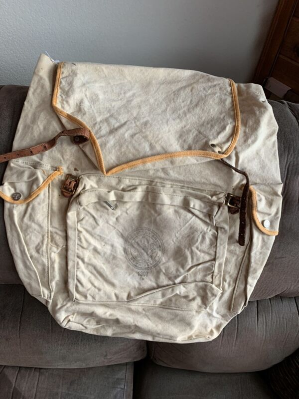 Vintage Boy Scout Backpack -#1307