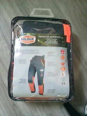 Chainsaw Trousers SOLIDUR FOREST class 3 TREE SURGEON type 3 size small