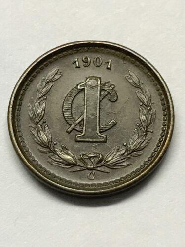 1901-C Mexico 1 Centavo Unc++ #14715