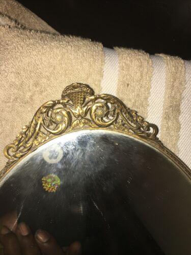 French Hand Mirror Antique - $1,000.00