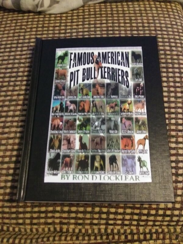"""Limited Copies!  Hardback Copy Of My Book """"Famous American Pit Bull Terrier""""🔥"""