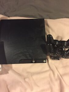 2 - PS3 systems w/ games and controllers