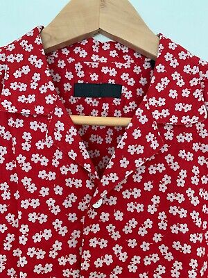 Vintage Burberry mens short-sleeve shirt