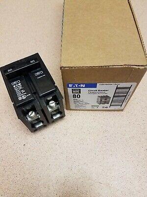 New Cutler Hammer Br280 Circuit Breaker 80a 240v