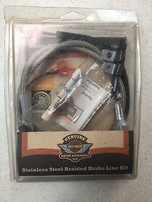 Harley Davidson Braided Brake Line Kit Xl Rear 44800-99