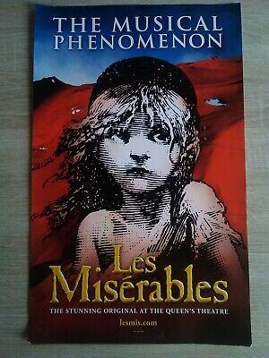Les Miserables Theatre Poster