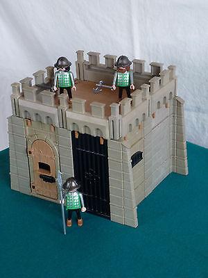 Playmobil Gefängnis, Knast, Carcel, 3859 Burgerweiterung Ritterburg 3666 (246)