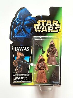 Star Wars Figures Kenner POTF (1996) JAWAS - GREEN CARD