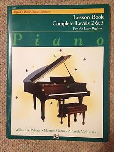 Alfred's Lesson Books for the Later Beginner