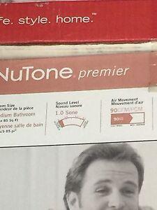Nutone 90cfm, 1 sone bathroom exhaust fan