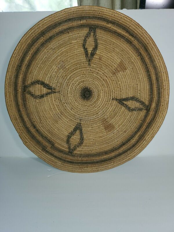 Very Large California Mission Basket 20 Inches