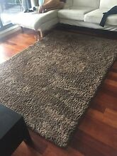 Shaggy Brown Rug Mascot Rockdale Area Preview