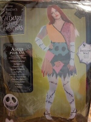 Plus Size Rag Doll Halloween Costumes (The Nightmare Before Christmas Rag Doll Sally Halloween Costume Plus Size)