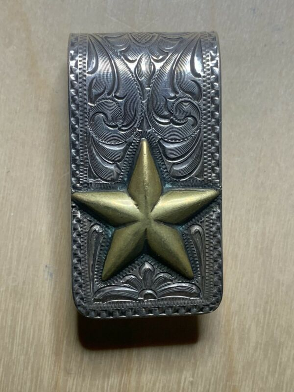 Sterling SILVER KING MONEY CLIP