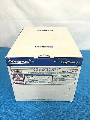 Olympus Endo Therapy Disposable Biopsy Forceps. Endojaw Fb-211d Box Of 20.