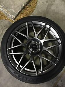 "4x MUSTANG/SHELBY 20"" SVT Wheel+Tyres!!! Very RARE Woolloomooloo Inner Sydney Preview"