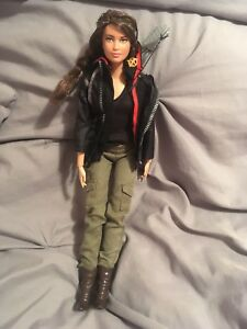 Katniss Everdeen Barbie Doll (collectable)
