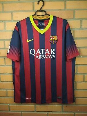 238222997 Barcelona jersey XL 2013 2014 home shirt 532822-413 soccer football Nike