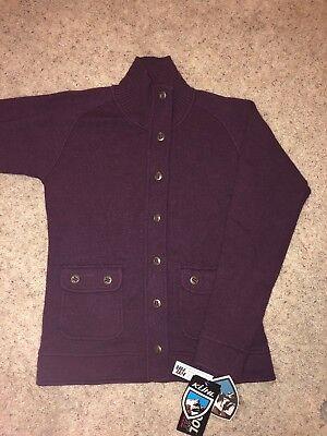 NWT Kuhl SPY Jacket Womens Medium stretch merino wool Berry Coat $175