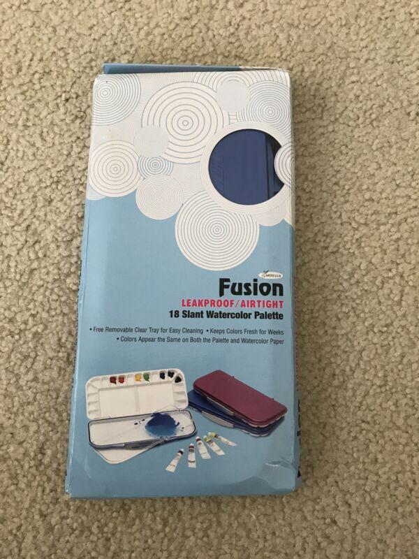 Fusion Leakproof Airtight 18 slant watercolor palette