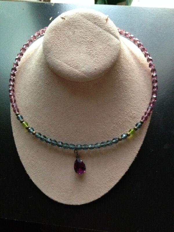 Glass Beaded Collar
