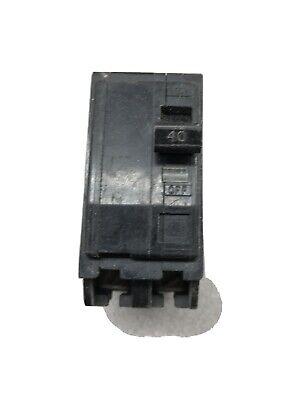 Square D Qo240 Q0240 Plug-in Circuit Breaker 40a 40 Amp Wc37502-006