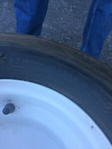Brand new Carlisle trailer tires & rims