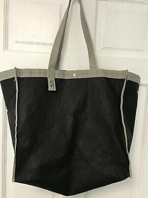 OAKLEY Shopping Bag BLACK & GRAY TOTE BAG REUSABLE SHOPPING BAG ECO (Oakley Shopping)