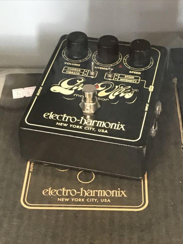 Electro-Harmonix Good Vibes Analog Modulator Pedal EHX